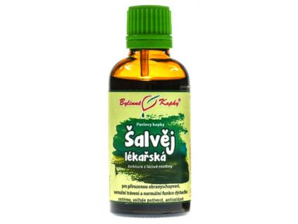 Šalvěj lékařská bylinné kapky (tinktura) 50 ml 1