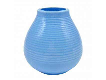 Keramická kalabasa, Bledě modrá, 300 ml
