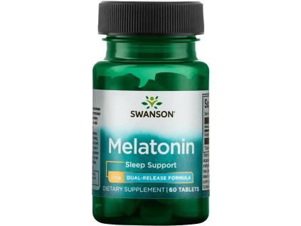 Swanson Melatonin Dual Release, 3 mg, 60 tablet