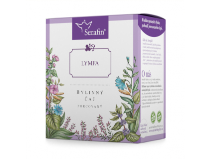 Lymfa, Serafin bylinný čaj porcovaný 15 x 2,5g