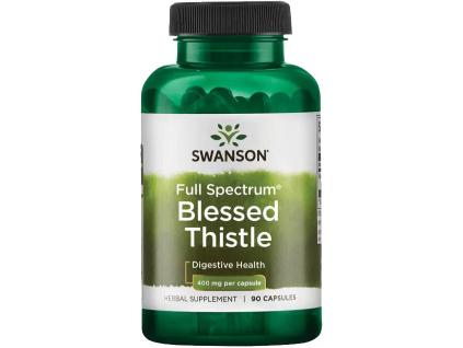 Swanson Blessed Thistle, 400 mg, 90 kapslí