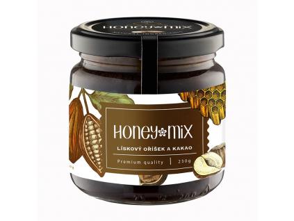 HoneyMix Med, Lískový oříšek a kakao 230 g