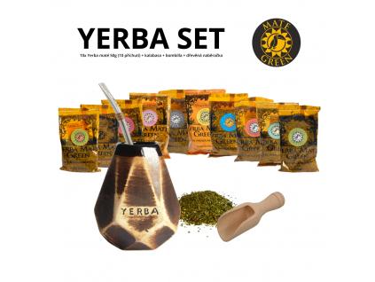 yerba set (diamant hneda + Mercedes)