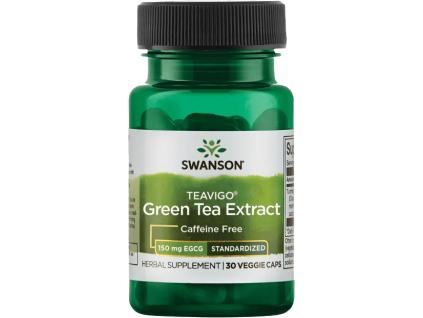 Swanson Teavigo Green Tea Extract, 150 mg EGCG, 30 rostlinných kapslí
