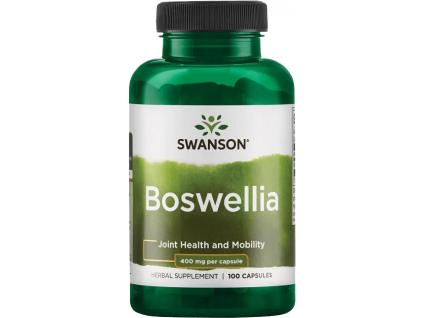 Swanson Boswellia, 400 mg, 100 kapslí