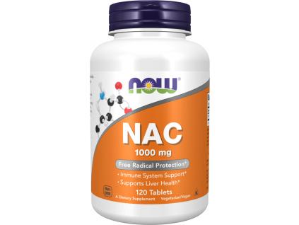 NOW FOODS N Acetyl Cysteine, NAC, 1000 mg, 120 tablet