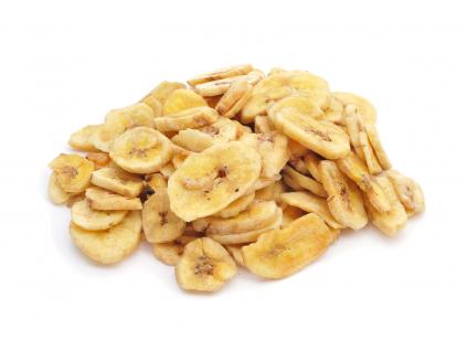 NATIOS BIO Sušené Banánové Chipsy, 500 g