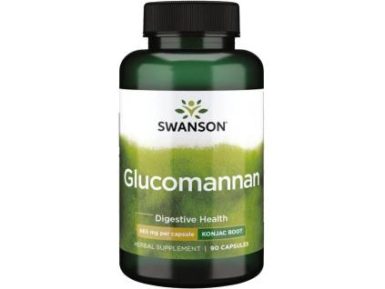 Swanson Glucomannan, 665 mg, 90 kapslí