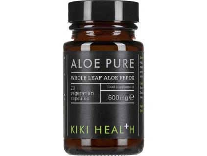 Kiki Health Aloe Pure, 600 mg, 20 rostlinných kapslí