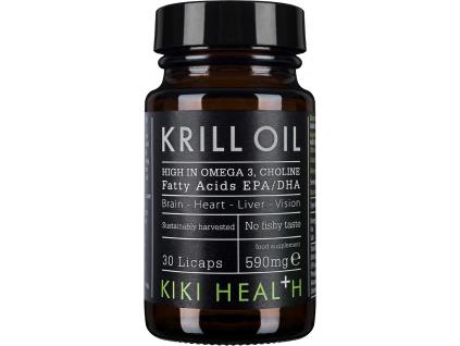 Kiki Health Krill Oil, 590 mg, 30 Licaps