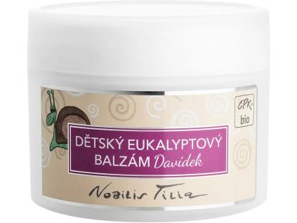 Nobilis Tilia Dětský eukalyptový balzám Davídek, 50 ml