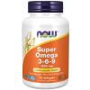 NOW FOODS Super Omega 3 6 9, 1200 mg, 90 softgel kapslí