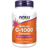 NOW FOODS Vitamin C 1000 Complex Pufrovaný s 250 mg bioflavonoidů, 90 tablet