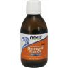 NOW FOODS Omega 3 Rybí olej, Fish Oil Liquid, Citrón, 200 ml