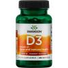 Swanson Vitamín D3 5000 IU, 250 softgel kapslí