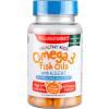 H&B Omega 3 rybí olej Healthy Kids pro děti + Vitaminy A, D, E a C, 60 žvýkacích kapslí