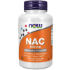 NOW FOODS NAC se selenem a molybdenem, 600 mg, 100 rostlinných kapslí