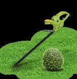 Nůžky na živý plot a trávu