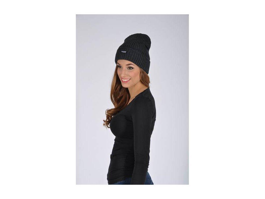 Zimní čepice pletená + fleece EDWIN