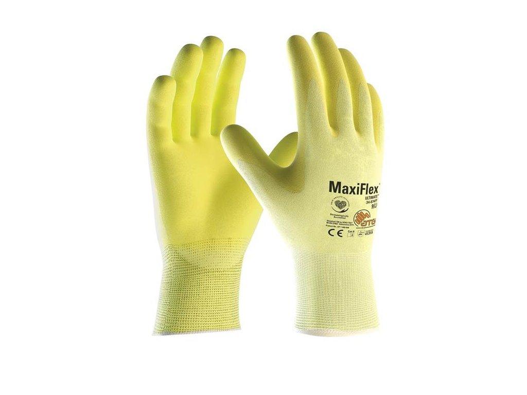 Rukavice MAXIFLEX ULTIMATE 34-874FY na stojan