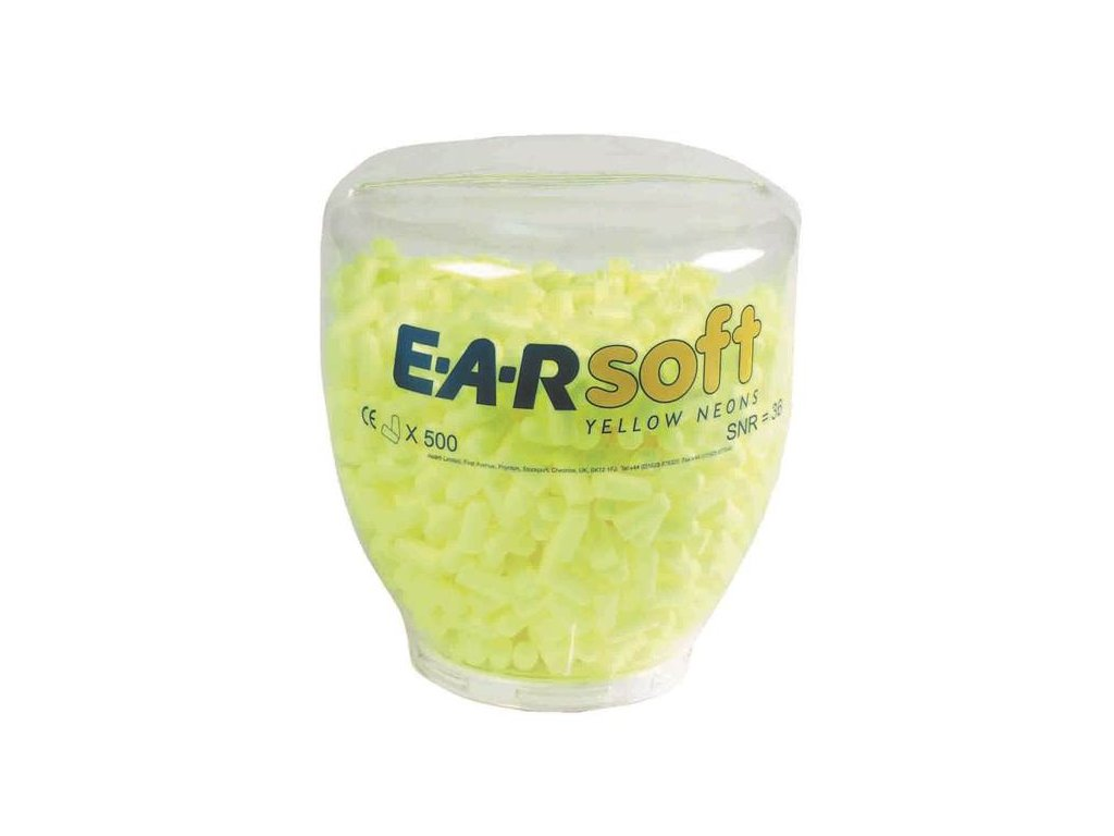 Zásobník EAR SOFT NEON (500 ks)