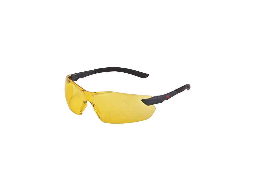 2822, Žluté polykarb. brýle 2822, AS-AF