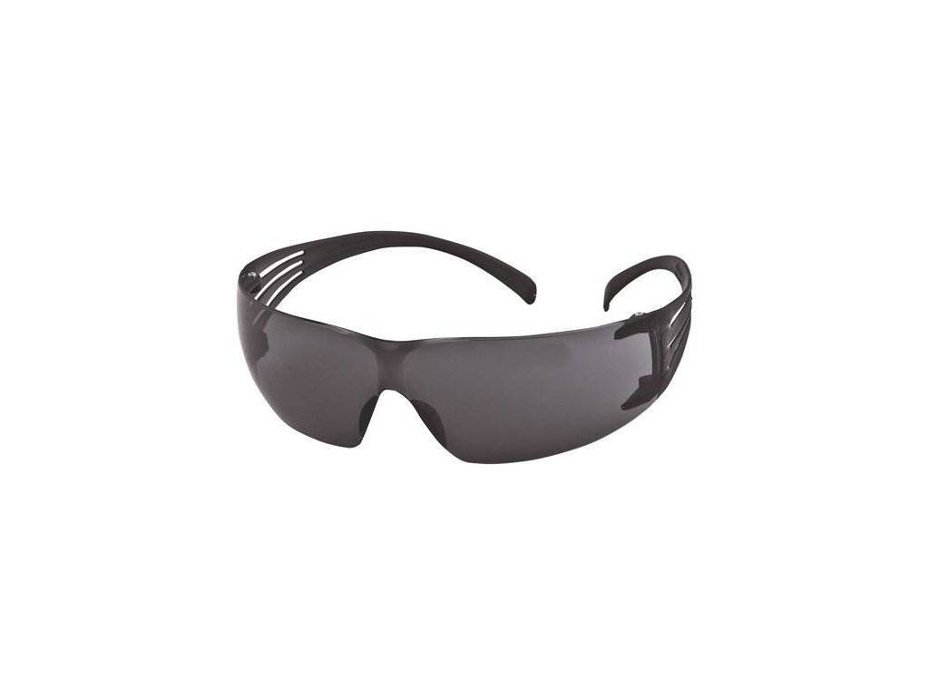 SF202AF-EU, Šedé polykarb. brýle SecureFit, povrch AS/AF