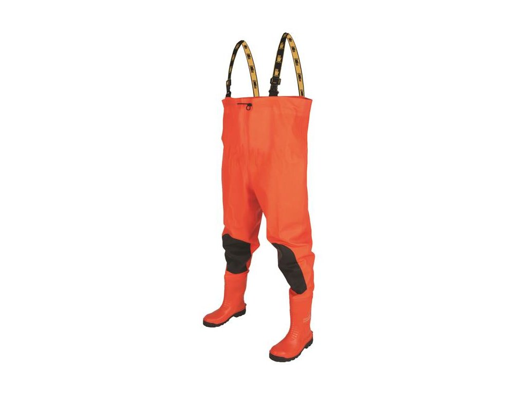 """CHEST WADERS """"Max S5"""" Fluo orange"""