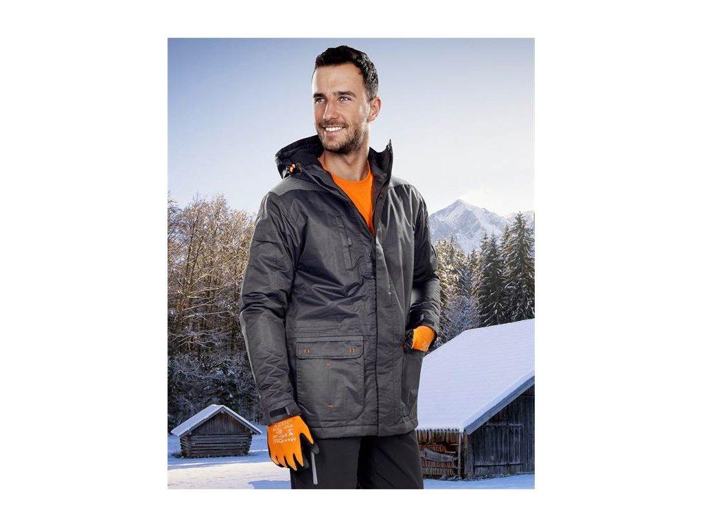 BEN zimní bunda pánská černá