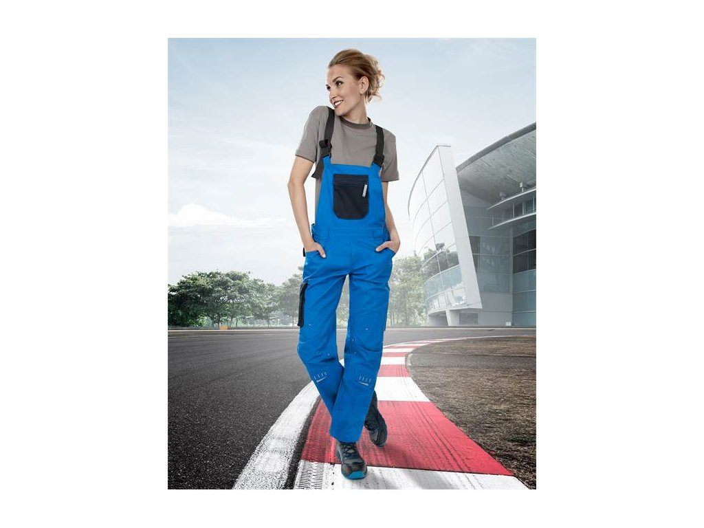 Dámské kalhoty lacl 4TECH 03 modro-černé, 164-172