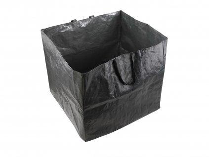 koš na listí a zahradní odpad, 60x60x55cm, 200L, PE