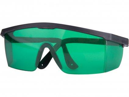 brýle pro zvýraznění laser. paprsku, zelené