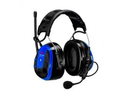 3M™ PELTOR™ WS™ ALERT™ XPI, s aplikací, modrá, MRX21A3WS6