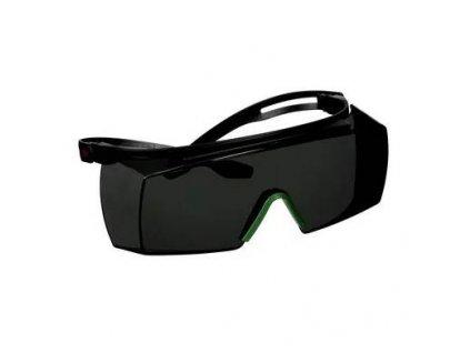 3M™ SecureFit™ 3700 Ohranné brýle přes brýle s povrchovou úpravou proti poškrábání, šedý zorník