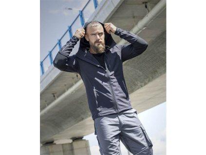 Softshellová bunda ARDON® Breeffidry STRETCH tmavě šedá