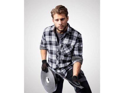Košile ARDON®OPTIFLANNEL černá