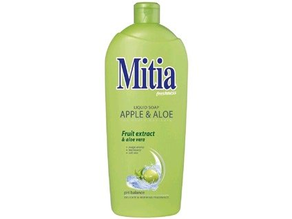 Tekuté mýdlo Mitia, Apple and Aloe, 1000 ml