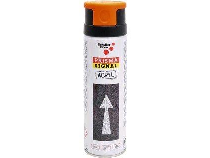 Značkovací sprej Schuller Prisma, signální oranžová, 500 ml
