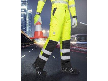Zimní reflexní kalhoty HOWARD žluté