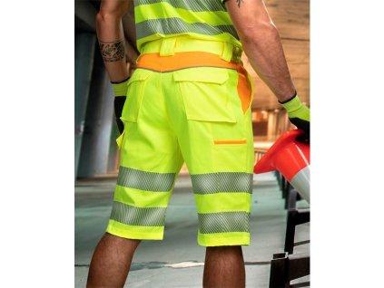 Reflexní šortky ARDON®SIGNAL žluté