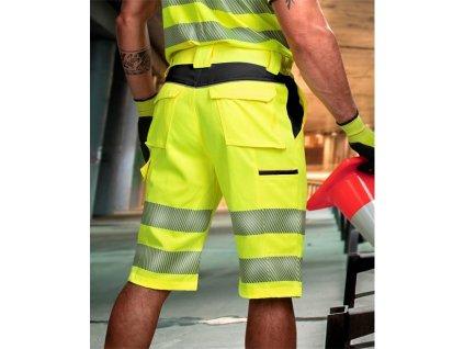 Reflexní šortky ARDON®SIGNAL žluto-černé