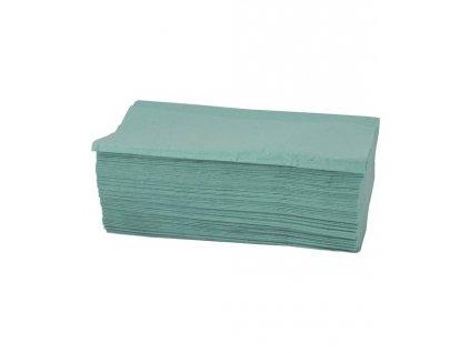 ZZ ručníky zelené jednovrstvé