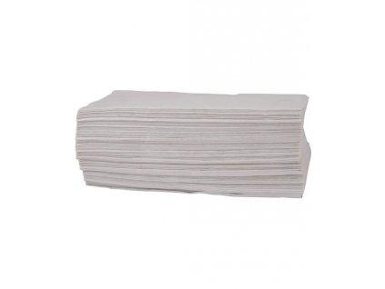 ZZ ručníky - bílé, jednovrstvé (5000 ks)