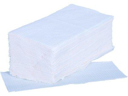 Papírové ručníky ZIK-ZAK, bílé