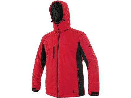Bunda CXS VEGAS, zimní, pánská, červeno-černá