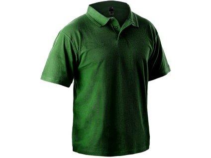 Polokošile s krátkým rukávem MICHAEL, lahvově zelená