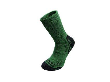 Zimní ponožky FOREST, zelené