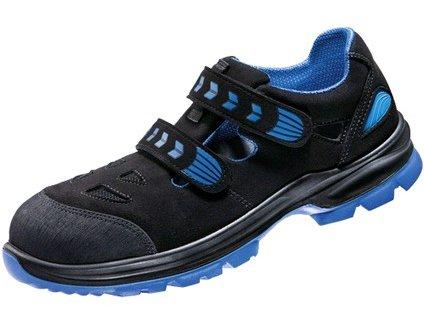 Polobotka SL46 BLUE S1, perforovaná, černá