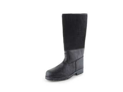 Koženofilcová holeňová obuv TIMUR