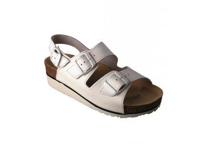 Sandál DORIS bílý